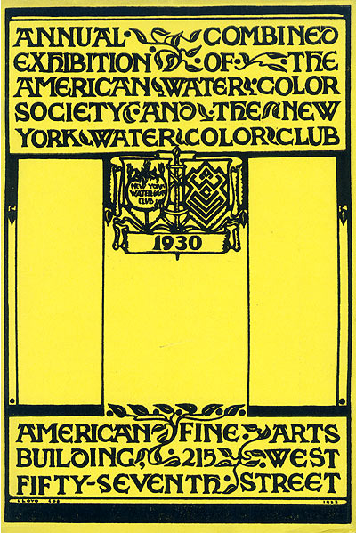 1930 exhibition catalog